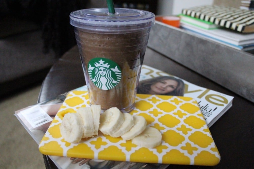PB2 Banana Mocha Smoothie | No Thanks to Cake