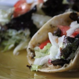 Jenny Recipe Creation:  Baja Chicken Gyro