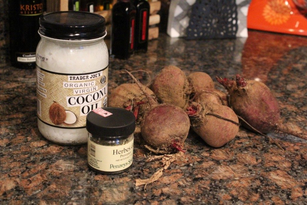 Coconut Oil Roasted Beets | No Thanks to Cake