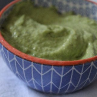 Tomatillo-Avocado Dip | No Thanks to Cake