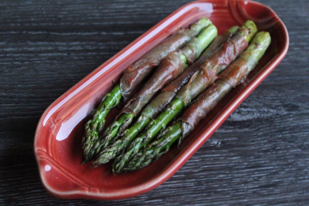 Prosciutto-Wrapped Asparagus | No Thanks to Cake