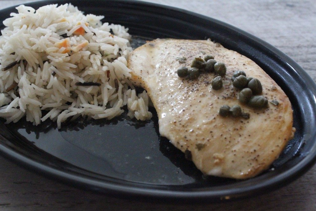 Lemon Caper Chicken | No Thanks to Cake