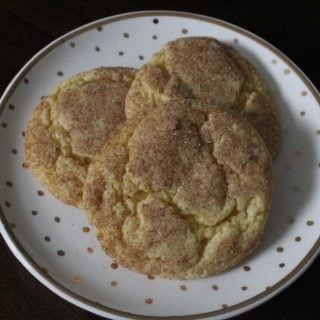 Pumpkin Snickerdoodles | No Thanks to Cake