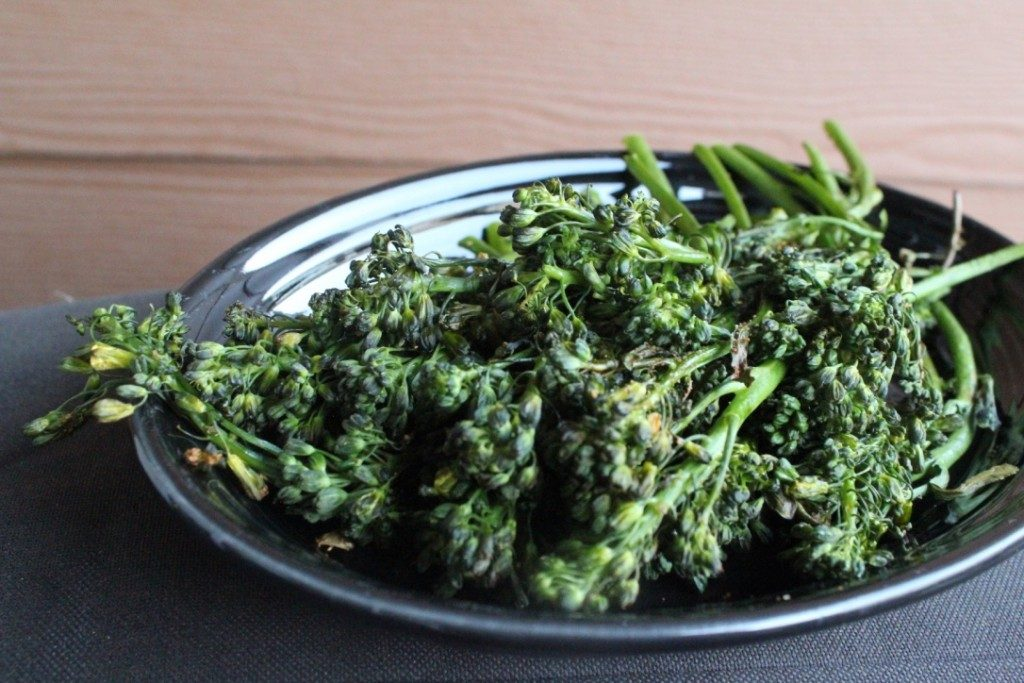 Roasted Broccolini | No Thanks to Cake