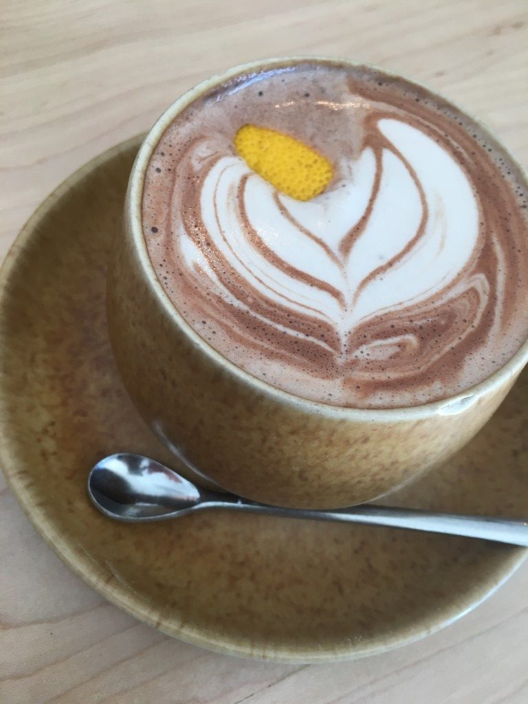 Amethyst Coffee Whack and Unwrap Hot Chocolate |No Thanks to Cake