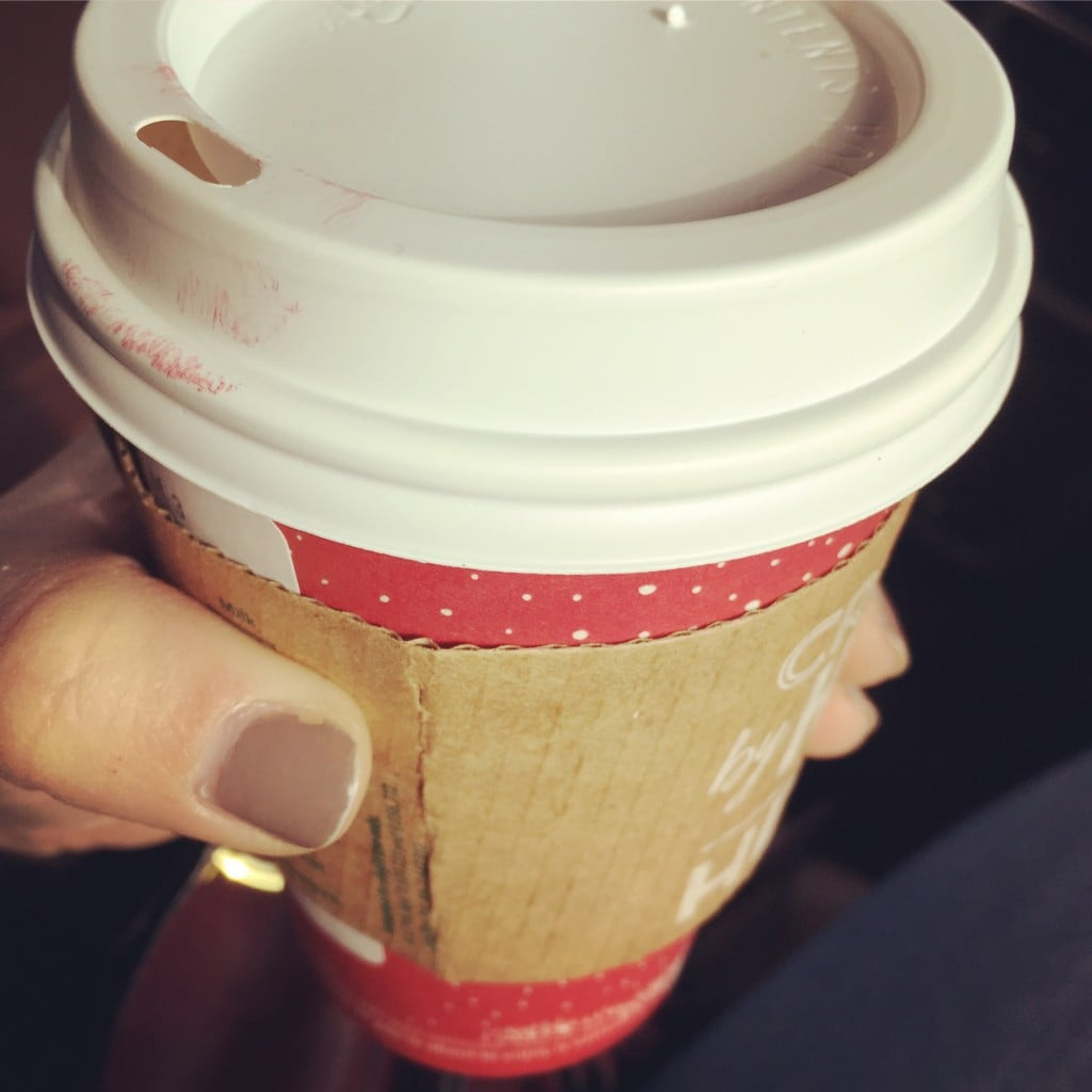 Starbucks Holiday Flat White | No Thanks to Cake
