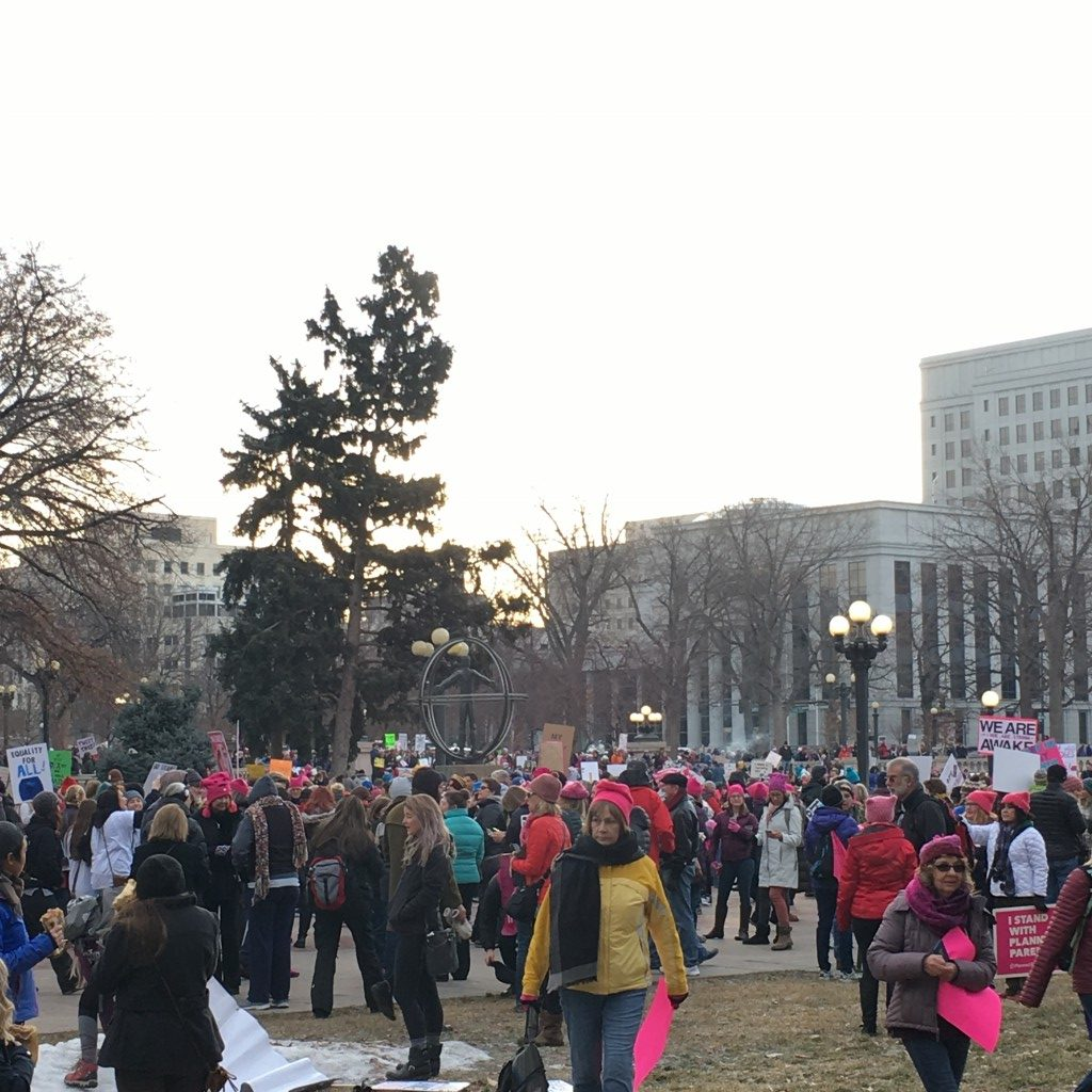 Womens' March Denver | No Thanks to Cake