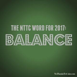 My Word for 2017: Balance