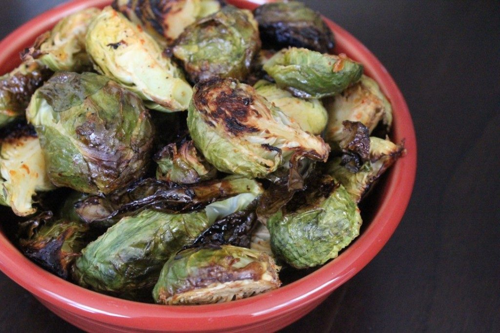 Thai Chili Brussels Sprouts | No Thanks to Cake