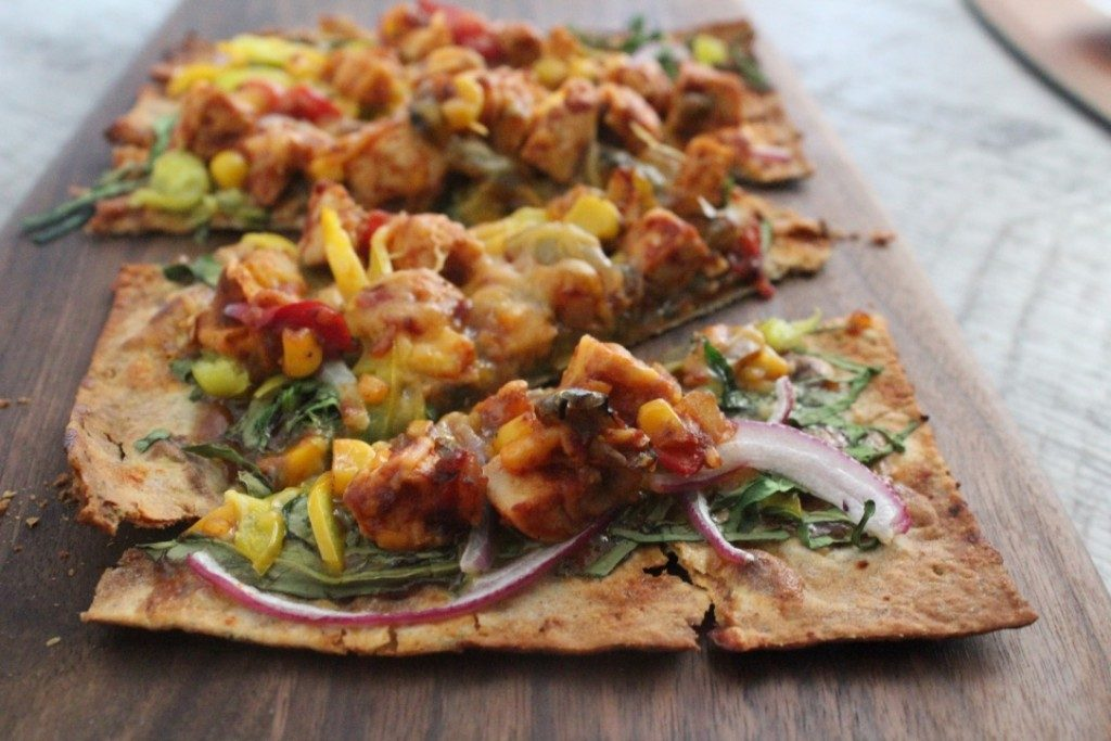 Jenny Craig BBQ Chicken Flatbread | No Thanks to Cake