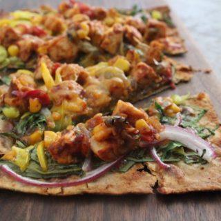 Jenny Craig Recipe Creation: BBQ Chicken Flatbread