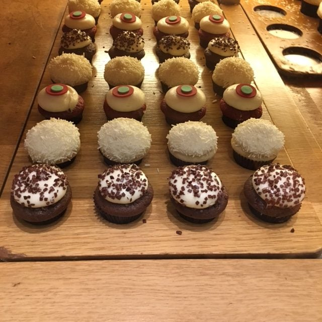 Sprinkles Mini Cupcakes | No Thanks to Cake