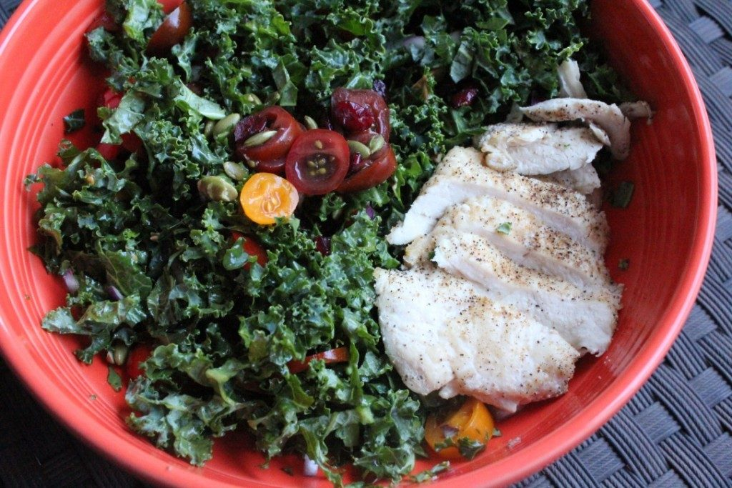 Copycat Tommy Bahama's Chopped Kale Salad | No Thanks to Cake
