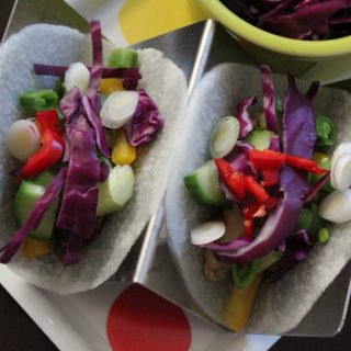 Jenny Craig Recipe Creation:  Asian Jicama Tacos