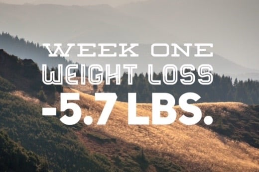 Week One Weight Loss | No Thanks to Cake