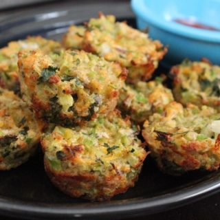 Baked Broccoli Tots | No Thanks to Ca