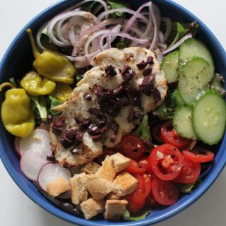 Jenny Craig Recipe Creation:  Greek-Style Chicken Salad
