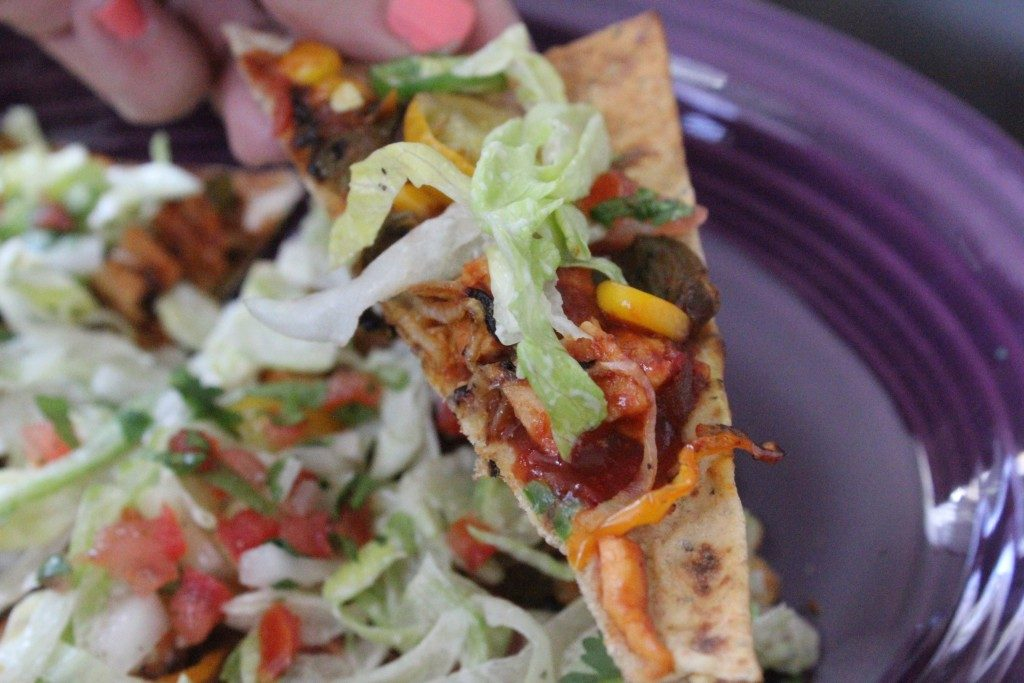 Jenny Craig Recipe Creation Mexican Pizza | No Thanks to Cake