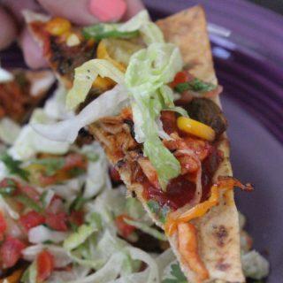 Jenny Craig Recipe Creation: Mexican Pizza