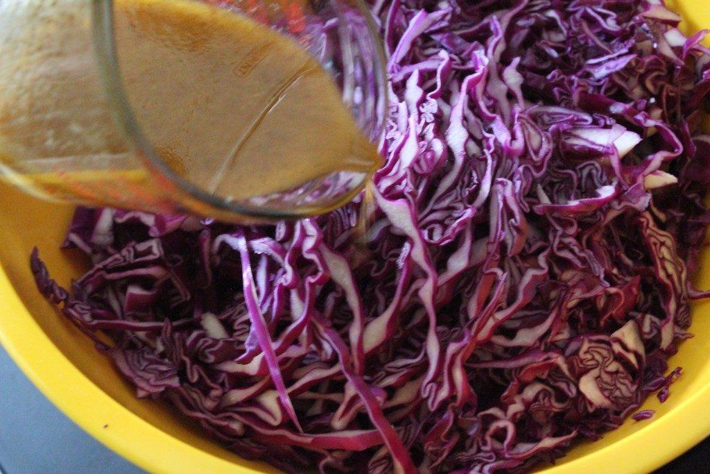 Simple Zesty Cabbage Slaw