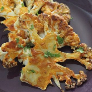 Buffalo Cauliflower Steaks