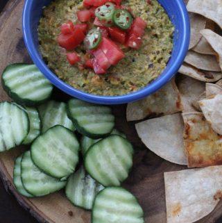 Jenny Craig Recipe Creation:  Hot Southwest Veggie Dip