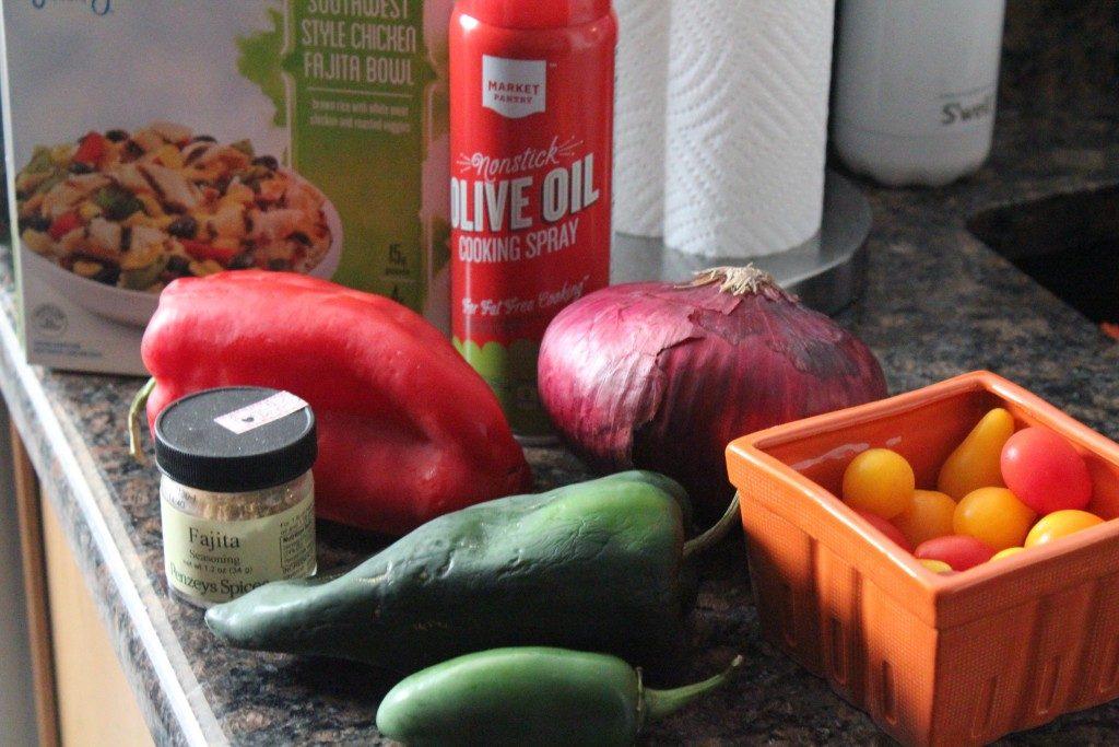 Jenny Craig Recipe Creation: Chicken Fajita Skillet