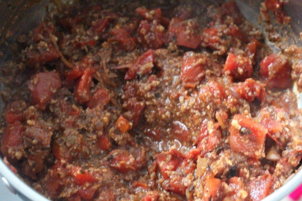 Jenny Craig Recipe Creation:  Turkey Burger Chili