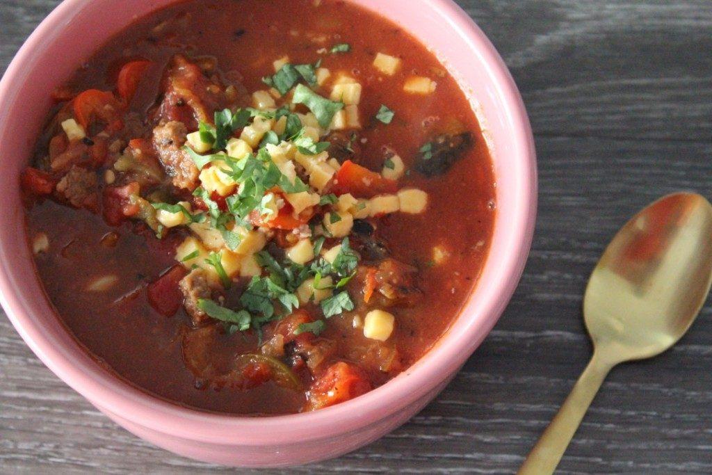 Jenny Craig Recipe Creation:  Taco Soup