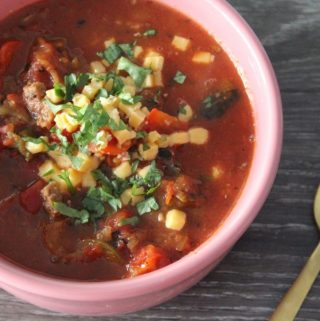 Jenny Craig Recipe Creation:  Taco Soup