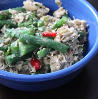 Pineapple Chicken and Green Bean Salad (Inspired by Lemonade LA)