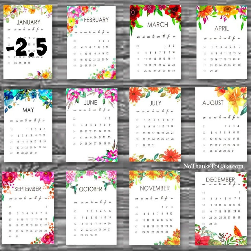 It's just a picture of Effortless Printable Weight Loss Calendars