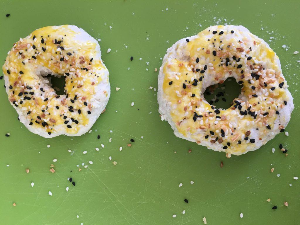 Two Ingredient Dough: Everything Bagels