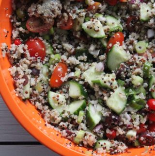 Greek Potluck Quinoa Salad
