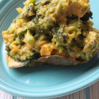 Jenny Craig Recipe Creation:  Twice Baked Broccoli Cheese Potato